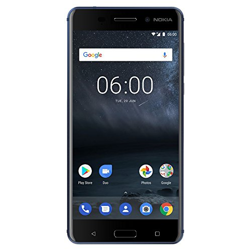 (Nokia 6 - Android 9.0 Pie - 32 GB - 16MP Camera - Dual SIM Unlocked Smartphone (AT&T/T-Mobile/MetroPCS/Cricket/H2O) - 5.5