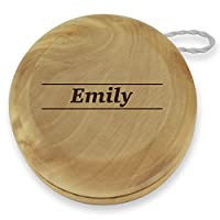 Dimension 9 Emily Classic Wood Yoyo with Laser Engraving