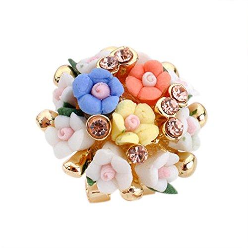 Designer Flowers Stud (Elaco Flower Stud Earrings Clove Designer New Broncos For Womens (I))