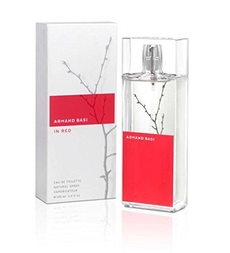 Armand Basi Fragrance - Armand Basi Red By Armand Basi For Women. Eau De Toilette Spray 3.4 Ounces