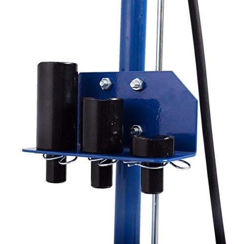 Goplus 22 Ton Air Hydraulic Floor Jack Truck Lift Jacks Service Repair Lifting Tool with Wheels by Goplus (Image #4)