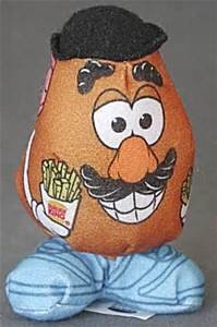 (Burger King Kids Meal Mr. Potato Head Stuffed Figure Toy 1999 by Bk )