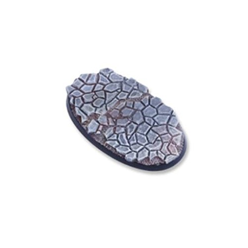 75mm Oval Base - Cobblestone 2 - Stones Oval Two