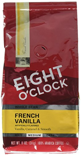 Eight OClock French Vanilla Whole Bean Coffee, 11 oz