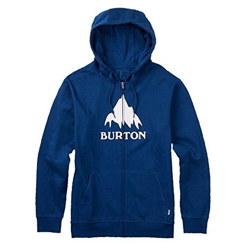 Intera Burton Con Da Classic Blue Mountain Uomo Blu Zip True Felpa 4rPxwqnXr