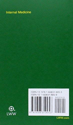 Pocket Medicine: The Massachusetts General Hospital Handbook of Internal Medicine, 4th Edition (Pock