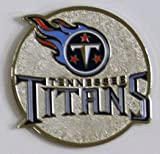 Tennessee Titans NFL Round Metal Magnet