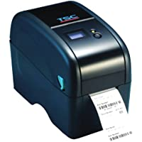 TSC 99-039A036-44LF Series TDP-324W Wrist Band Printer, 300 dpi Resolution, 4 ips, RTC, Ethernet/USB/USB Host Port, LCD Display, White