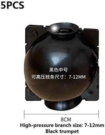 Caja de cultivo de 5/8/12 cm de diámetro 5 piezas Caja de cultivo de