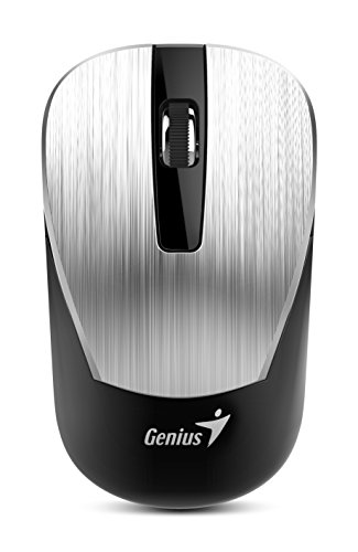 (Genius 7 Series Metallic Comfortable Stylish Wireless Mouse (NX-7015/SILVER) )