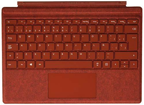 Microsoft Surface Pro Signature – Funda con teclado, roja