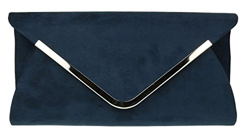 Chica Marino Con Azul Mano Diseño Girly De Sobre Bolsa Handbags AxaR7g