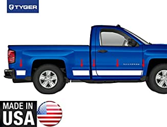 Tyger Auto Made in USA Works with 1999-2004 Ford Mustang 2 Door Between Wheel Rocker Panel Trim 43560 1//4 Wide 6PC