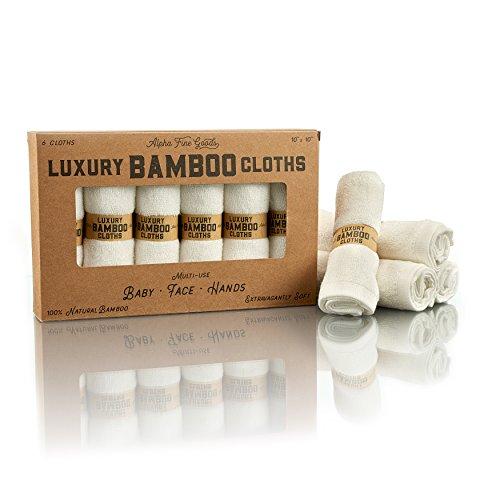 ALPHA Bamboo Luxury Washcloths PREMIUM product image