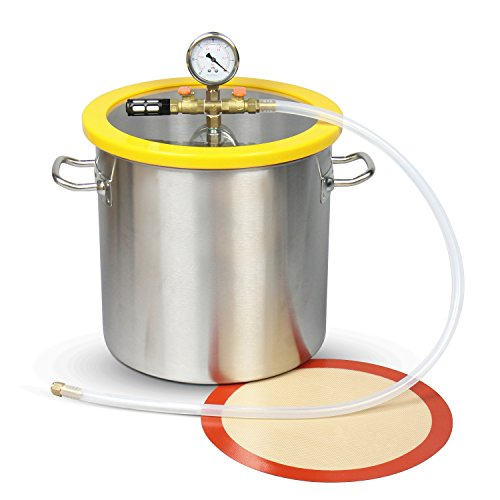 Gallon Stainless Vacuum Degassing Chamber product image