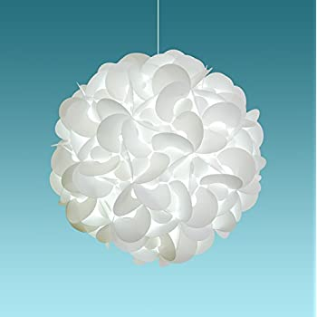 unique ceiling lighting. Akari Lanterns Deluxe Rounds 22\u201d Wide , Cool White Glow, Modern \u0026 Unique Ceiling Hanging Light Fixtures / Swag Plug In Or Hardwire As Pendant Lamp Shade Lighting N