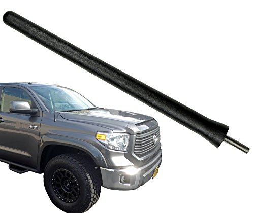 AntennaMastsRus - The Original 6 3/4 INCH is Compatible with Toyota Tundra (2000-2019) - SHORT Rubber Antenna - Reception Guaranteed - German Engineered - Internal Copper Coil