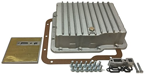 TSI Transmission Specialties Powerglide Deep Aluminum Transmission Pan Trans Filter & Gasket