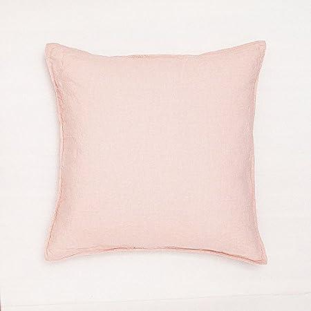 26 by 26 Kess InHouse Jacqueline Milton Oak Leaf Turquoise Floral Blue Throw Pillow