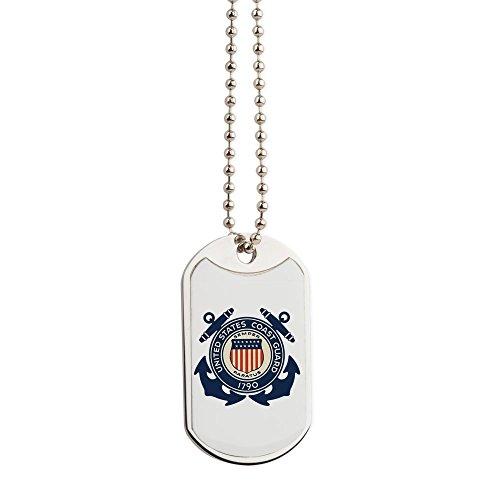 Royal Lion Dog Tags United States US Coast Guard Seal
