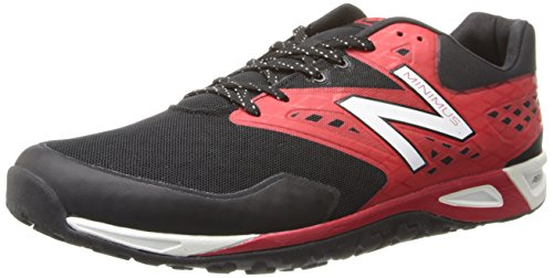 Nieuw Evenwicht Heren Mx00 Minimus Cross-training Schoen Zwart / Rood