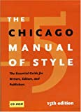img - for The Chicago Manual of Style, 15th Edition book / textbook / text book