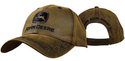 Oilskin Cap, 6-Panel One Size Fits All, Brown (Boots Hat)