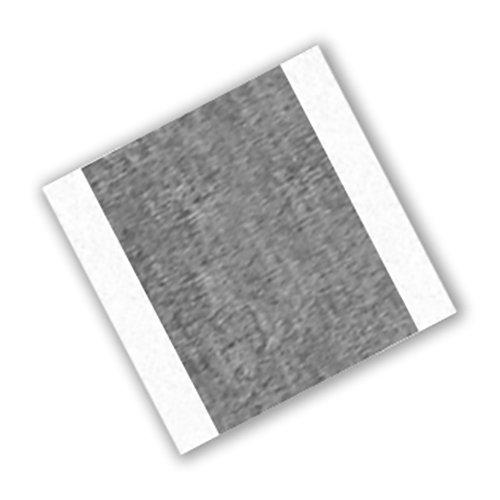 Paquete de 250 rectangulares 225 grados de temperatura de rendimiento 60 0,0068 cm de grosor TapeCase 420 1,25 L Cinta adhesiva de plomo//caucho de color plateado oscuro 0,5 W