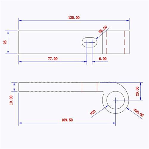 CHUNSHENN ドリルチャック 耐久性に優れた木工キットT-トラックTスロット即効ホールドダウンクランプセットの木工クランプクランプ用木工