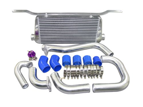 CXRacing Intercooler Kit For 95-99 Mitsubishi Eclipse Talon 2G DSM (Eclipse 98 99 Stock 97)