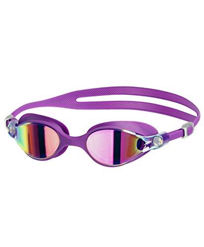 Speedo Vclass Virtue Lunettes de Natation Femme Purple Vibe/Pink