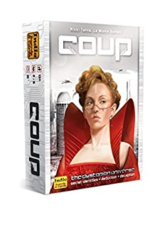 Coup Card Game (The Resistance Universe) (B00GDI4HX4) | Amazon Products