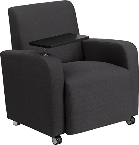 Zuffa Home Furniture Gray Fabric Guest Chair