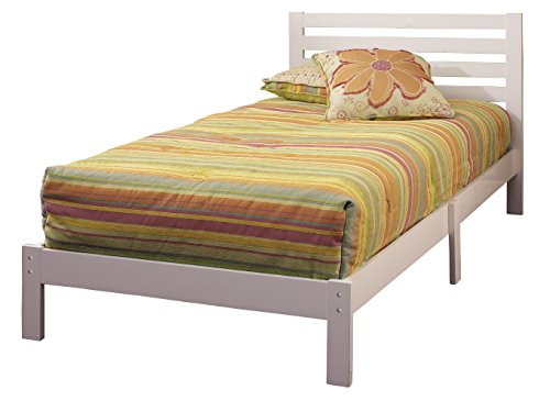 Aiden Twin Bed Set - Finish: White