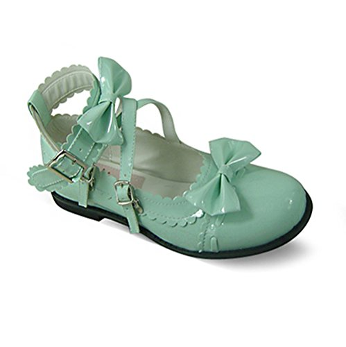 2002 Shoes 5cm Heel Dress Women's Mtxc Bow Lolita Mint 1 CIqXAwg