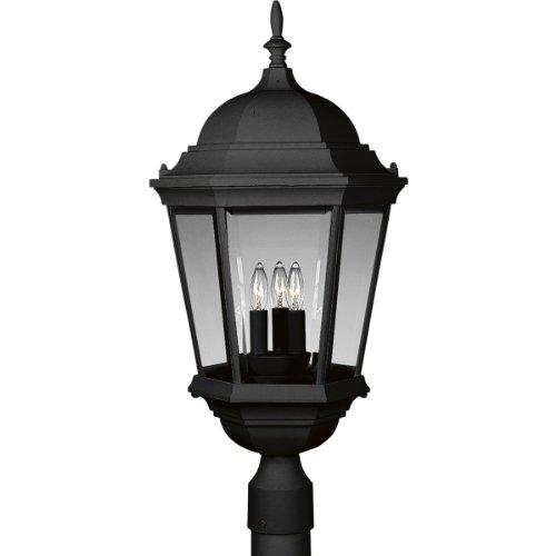 3 Light Outdoor Post Lantern in US - 9