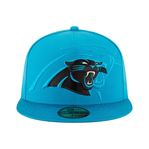 New Era NFL CAROLINA PANTHERS Authentic 2016 On Field 59FIFTY Game Cap