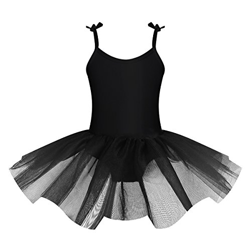 iiniim Girls Adjustable Spaghetti Straps Ballet Dance Dress
