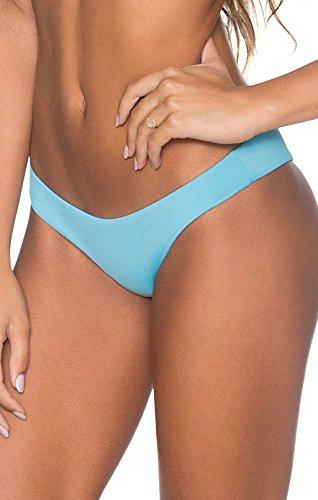 B Swim - Womens Bikini Bottom-L28, Blue Ginger, - Maui Ginger Blue
