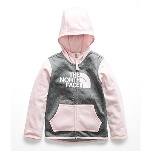 - The North Face Toddler Surgent Full Zip Hoodie - Purdy Pink - 2T