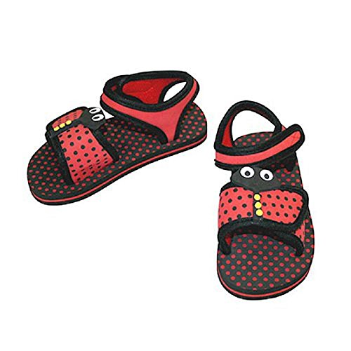 KiDiD Unisex niños low-top zapatillas - red / black