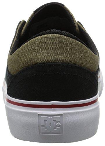 DC Mens Trase NM Unisex Skate Shoe Black/Olive hxMj798oI