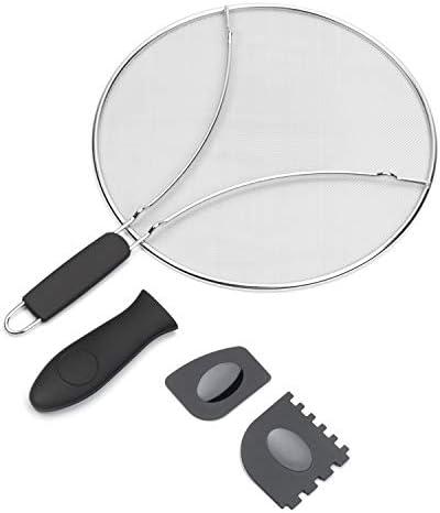STONEKAE Splatter Screen Frying Pan product image