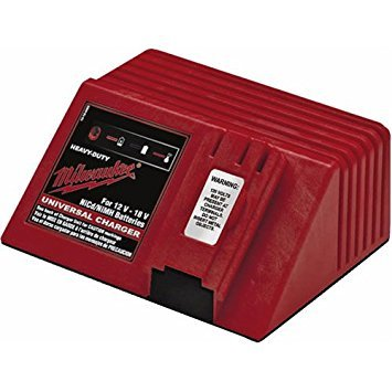 Milwaukee 48-59-0255 Universal 12-Volt to 18-Volt NiCad Slide Style 1 Hour Battery Charger ()