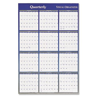 Mead Westvaco Reversible Monthly Two-Sided Planner A1152 -  AT-A-GLANCE