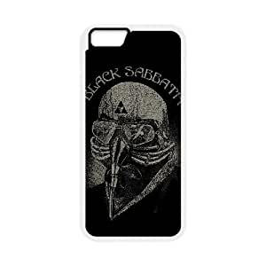 Printed Cover Protector iPhone 6 4.7 Inch Cell Phone Case Wttly Black Sabbath Unique Design Cases