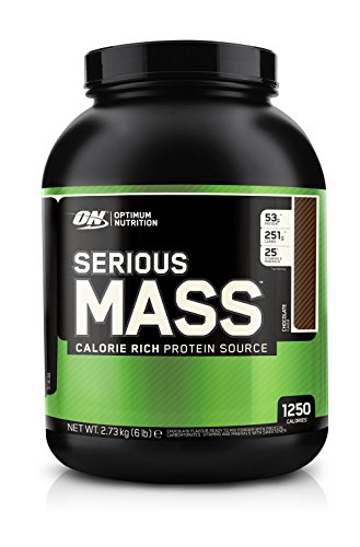 Optimum Nutrition Serious Mass, chocolat, 6 Pound