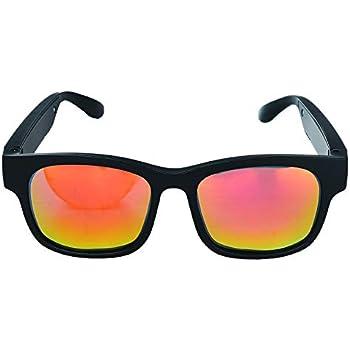 Amazon.com: GELETE Smart Glasses Wireless Bluetooth