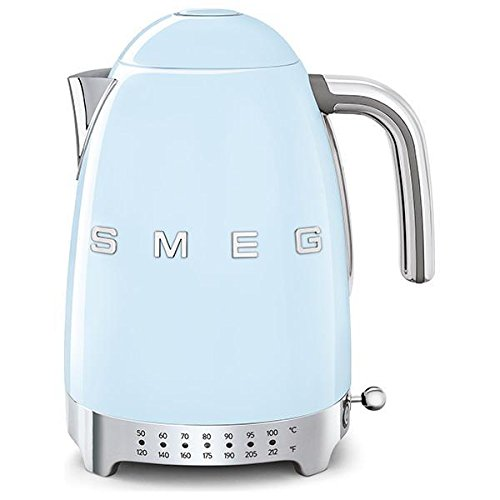 Smeg KLF04PBUS Electric Kettle, 11.7 x 10.4 x 9.1 inches, Pastel Blue