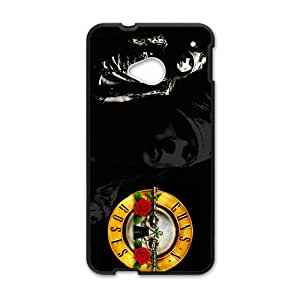 Cool-Benz Guns N Roses axel rose males rockband logo Phone case for Htc one M7
